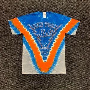 Majestic MLB New York Mets Tie Dye Shirt M